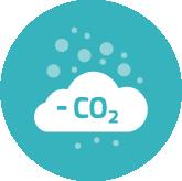 3 fois moins de CO2 que par camion